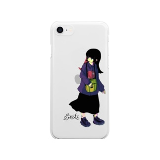 girl_001 Clear smartphone cases