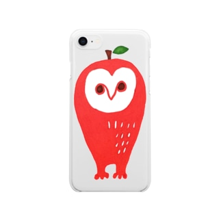 APPOWLアッポォウル Clear smartphone cases