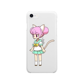 ncさん Clear smartphone cases