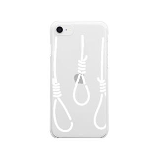 くびつり Clear smartphone cases