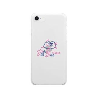 だりぃ〜 クリアスマートフォンケース