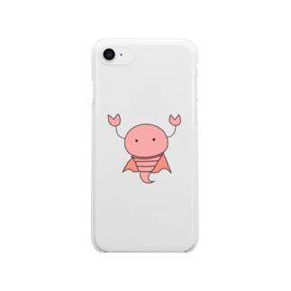 さそりん戦士 Clear smartphone cases