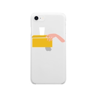 Oh My Lemon Clear smartphone cases