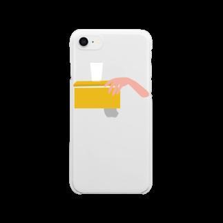 QTOTのOh My Lemon Clear smartphone cases