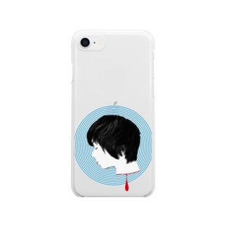 めまい Clear smartphone cases