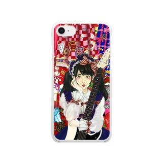 アンバランスなパーソナリティ Clear smartphone cases