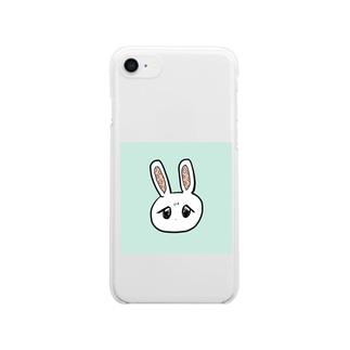 え花咲いてるけど……😥 Clear smartphone cases