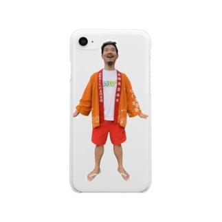 ピュアさんひょんぬ Clear smartphone cases