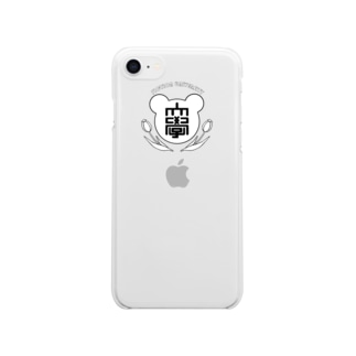 kanoの虚構大学(大学名入り) Clear smartphone cases