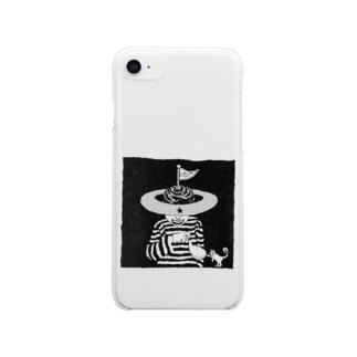 地球頭 Clear smartphone cases