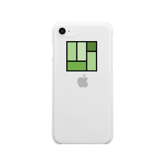 minato128のtatami Clear smartphone cases