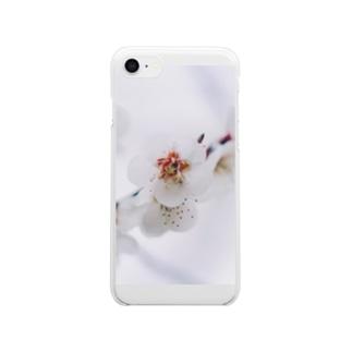 白梅 Clear smartphone cases
