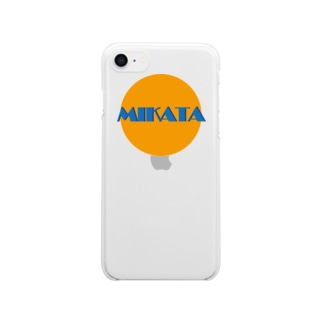 MIKATA iPhone case Clear smartphone cases