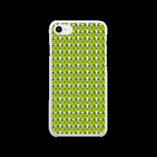 かえるのなおたろうのかえるのなおたろう Clear smartphone cases