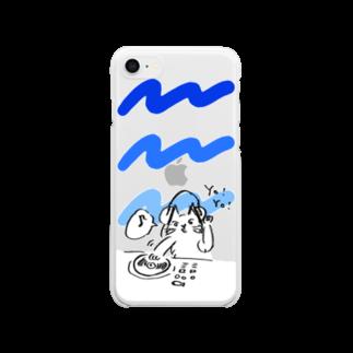 kameのDJねこ Clear smartphone cases