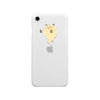 舞ハム Clear smartphone cases