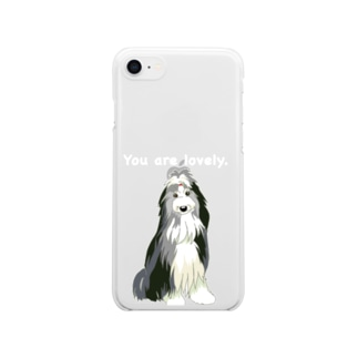 Lovely Clear smartphone cases