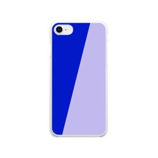 メリハリブランケット Clear smartphone cases