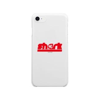 さめ Clear smartphone cases