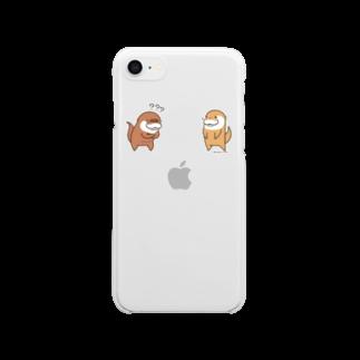鍵条漆のこつめってぃ Clear smartphone cases