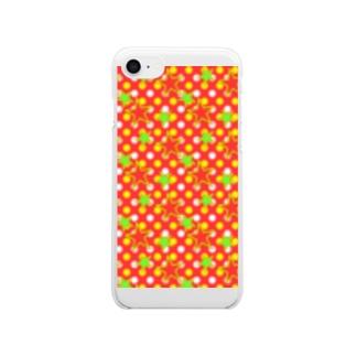 ドット☆スター RD Clear smartphone cases