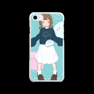 しゅり🍙のミズクラゲがーる Clear smartphone cases