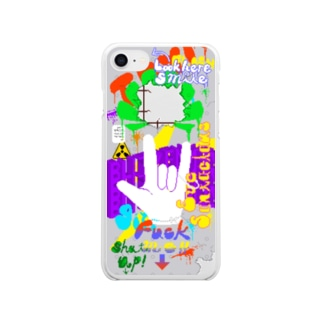 BLITZENスマホケース Clear smartphone cases