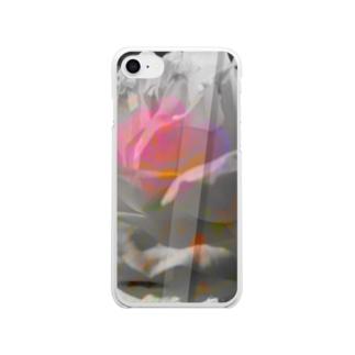 """""""危麗/no rose without a ×××""""-iPhone8/7 Clear smartphone cases"""