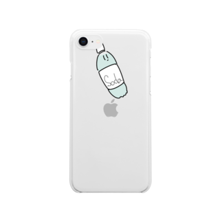 kagami102のsoda Clear smartphone cases