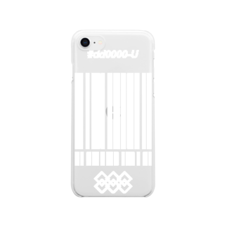 i love unofficialの【URD_unofficial】 Official iPhoneケース Clear smartphone cases