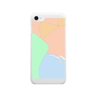 夢ある光景 Clear smartphone cases