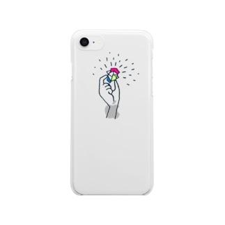 欠  片 Clear smartphone cases