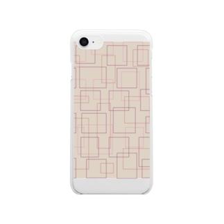 おとな女子 Clear smartphone cases