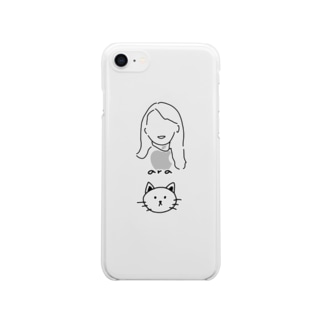 as【オーダー品】 Clear smartphone cases