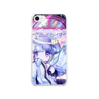 きあーとわーくす2+.  Clear smartphone cases
