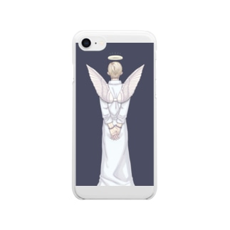 背徳 Clear smartphone cases