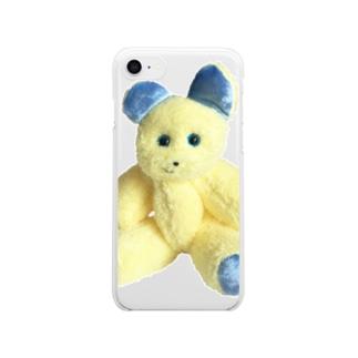 たおぷりん Clear smartphone cases