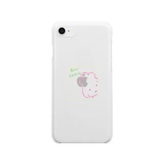 スマイルぷーどる Clear smartphone cases