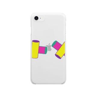 ねじれの位置 Clear smartphone cases