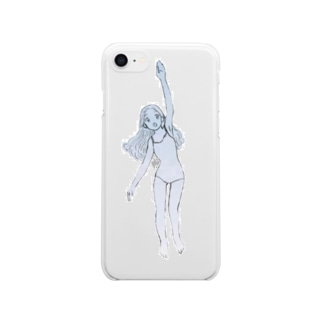 swimmer  Clear smartphone cases