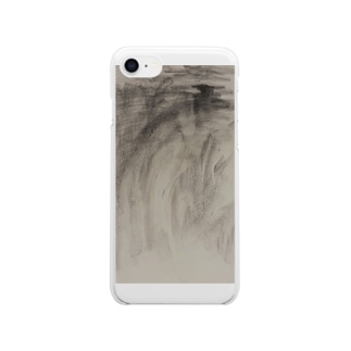 charcoal Clear smartphone cases