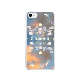 やすらぎヘブン Clear smartphone cases