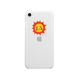 SUPER SUNNY Clear smartphone cases