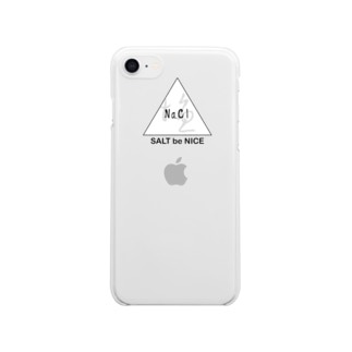 Nacl  Clear smartphone cases