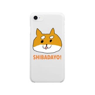 しばだよ! Clear smartphone cases