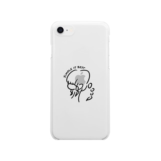 Erika Clear smartphone cases