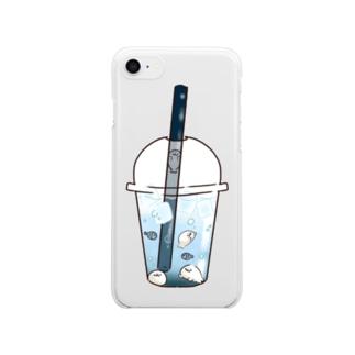 たぴあざ Clear smartphone cases