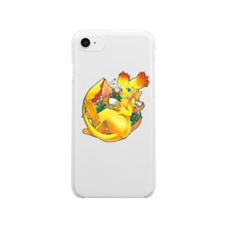 BARE FEET/猫田博人のフローレス・クリアケース Clear smartphone cases