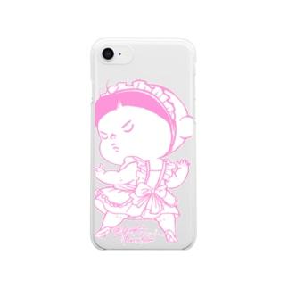 めいどあー Clear smartphone cases