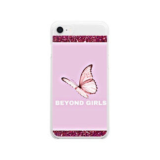 BEYOND GIRLS Clear smartphone cases